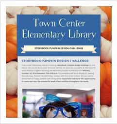 Storybook Pumpkin Design Challenge